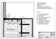 Detailplan Festverglasung PDF - Glas Trösch AG