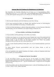 Hundesteuersatzung aktuell.pdf - Gemeinde Schluchsee