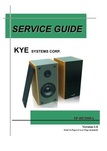 SP_HF2000A service manual.pdf - Genius