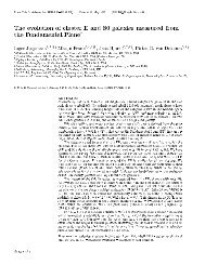 The evolution of cluster E and S0 galaxies measured from the ...