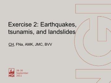 Earthquakes - GFDRR