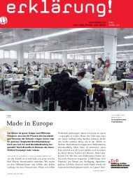 Made in Europe - Clean Clothes Campaign