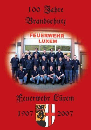 100 Jahre Brandschutz Feuerwehr Lüxem - auf Lüxem