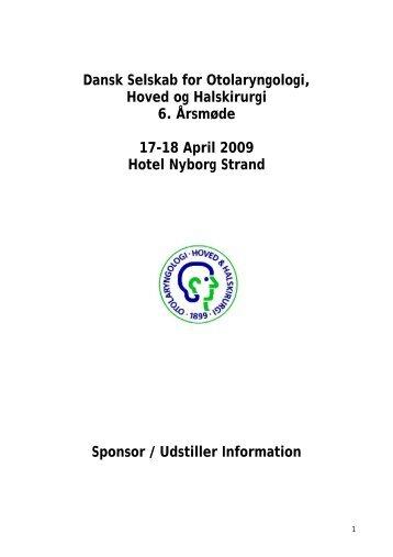 Udstiller / Sponsor information klik her - dsohh
