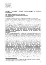Ansprache Dr. Irme Stetter-Karp bei der Stiftungsgründung in Bad ...
