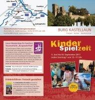 Kinder - Burg Kastellaun
