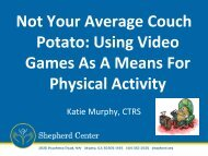 Not Your Average Couch Potato: Using Video Games ... - BlazeSports