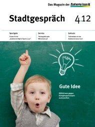 Stadtgespräch - Stadtwerke Essen AG