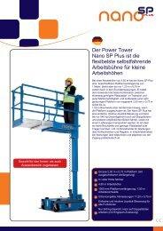 Der Power Tower Nano SP Plus ist die flexibelste ... - AVV