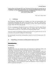 CPT/Inf (2010) 6 Stellungnahme der Republik Österreich zum ...