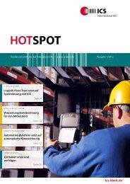 HotSpot November 2012 - ICS International AG