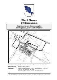 Begr_015_2013-02-07_Einarbeitung-Umweltbericht 1 - Nauen