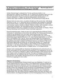 """33. Hessischer Landeswettbewerb """"Unser Dorf hat ... - Allendorf / Lahn"""