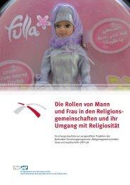 Die Rollen von Mann und Frau in den Religions ... - NFP 58