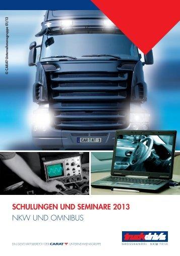 Schulung und Seminare 2013 - Autoteile Walter Schork GmbH