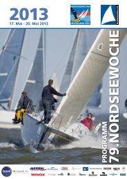 Programm der 79. Nordseewoche 2013