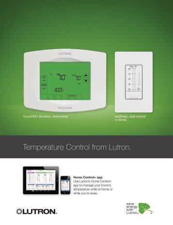Temperature Control from Lutron®