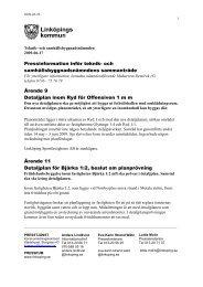 2009-06-17 Inför nämndens sammanträde - Linköpings kommun