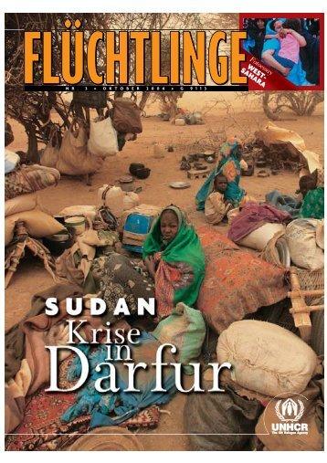 """Heft 3/2004: """"Sudan - Krise in Darfur"""" - unhcr"""