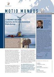 MOTIO MUNDUS 03 - TRANSPORTAS Internationale Spedition GmbH