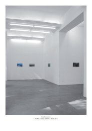 "Installation view ""NEWS"", Galerie Adamski / Berlin 2012"