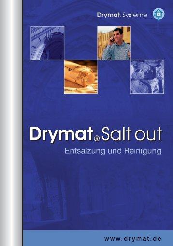 Drymat® Salt out Drymat® Salt out - DRYMAT® Systeme