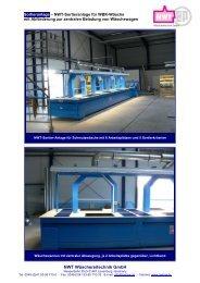 Infoblatt Sortieranlage WBK - NWT Wäschereitechnik GmbH