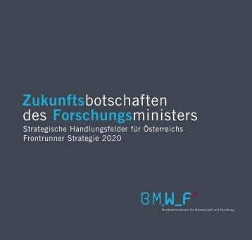 Zukunftsbotschaften des Forschungsministers - Bundesministerium ...