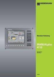 MANUALplus 4110 - heidenhain
