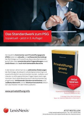 Bestellschein - privatstiftung.info