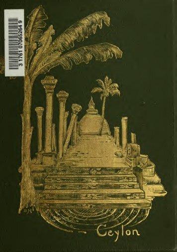 Ceylon 1909; Reiseerinnerungen