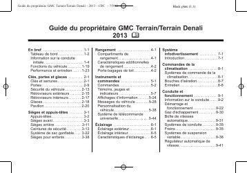 Terrain (PDF, 23.4 Mo) - GM Canada