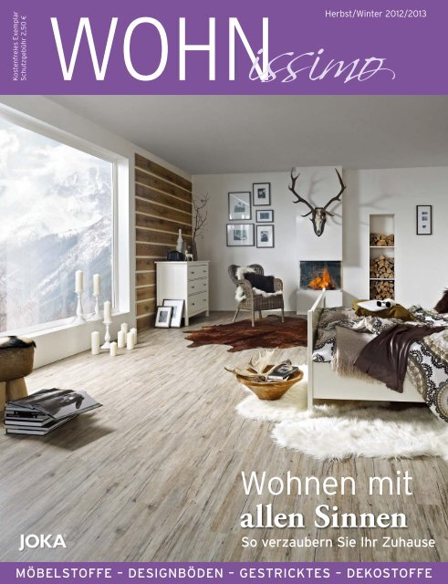 WOHNissimo Herbst/Winter 2012/2013