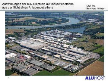Auswirkungen der IED-Richtlinie auf ... - Inplus GmbH