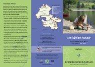 Am kühlen Wasser - Naturpark Schwäbisch Fränkischer Wald