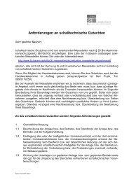 Anforderungen an schalltechnische Gutachten - Landratsamt Bad ...