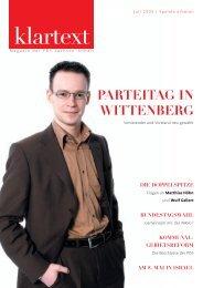 klartext 03/2005 - PDS Sachsen-Anhalt