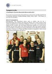 Bericht - SV Neptun Kiel