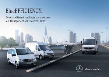 BlueEFFICIENCY Broschüre (PDF, 2,65 MB) - Mercedes Benz