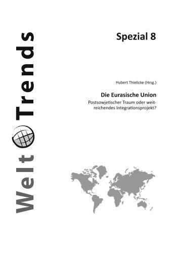 Spezial 8 Auszug PDF - WeltTrends