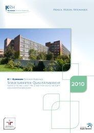 Qualitätsbericht KRH Klinikum Oststadt-Heidehaus
