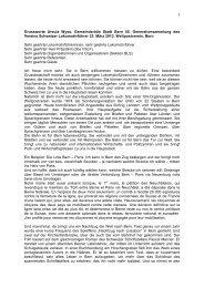 1 Grussworte Ursula Wyss, Gemeinderätin Stadt Bern 55 ... - VSLF