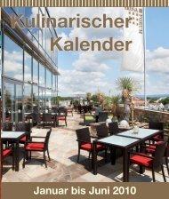 Kulinarischer Kalender - Best Western Premier Arosa Hotel