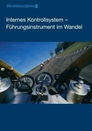 Internes Kontrollsystem – Führungsinstrument im Wandel - PwC