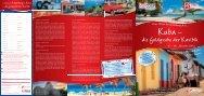 PDF Kuba-Reise 2013 - KulTOUR Ferienreisen