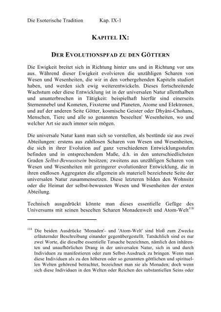 Kapitel Ix Der Evolutionspfad Zu Den Göttern Seite 020 021