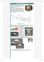 Funktionsweise des Lichtmaschinen-Ladereglers - Moto Morini 3 1/2