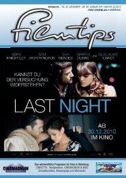 Das wöchentliche Programm für Kino in Nürnberg: CINECITTA ...