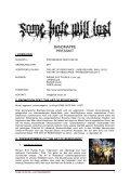 klicken für DOWNLOAD DER BAND-/PRESSEMAPPE! - Seite 2