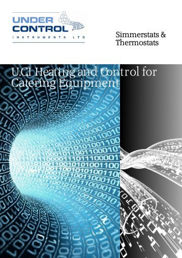 simmerstat thermostat data - Under Control Instruments Ltd